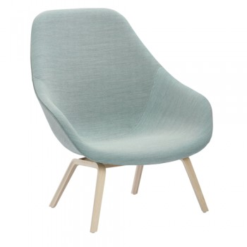 Hay - About a Lounge Chair High AAL93 fauteuil