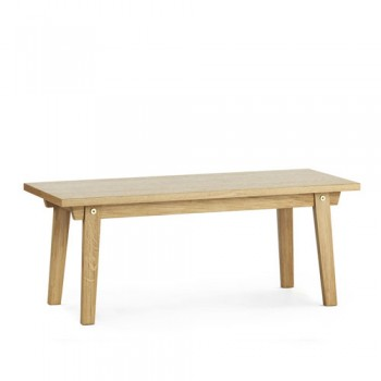 Normann Copenhagen - Slice Coffee Table vol. 2 Oak