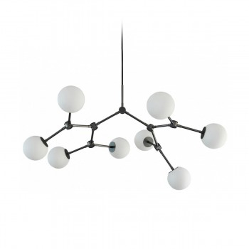 101 Copenhagen - Drop Chandelier Bulp Mini Grey