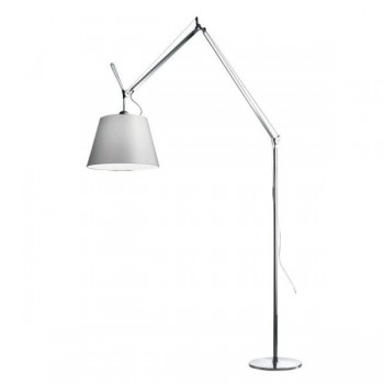 Artemide - Tolomeo Mega Terra vloerlamp - 32 cm Grijs Satijn