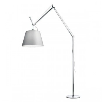 Artemide - Tolomeo Mega Terra vloerlamp - 36 cm Grijs Satijn