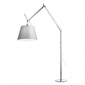 Artemide - Tolomeo Mega Terra vloerlamp - 42 cm Grijs Satijn