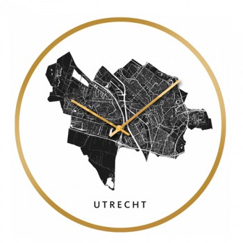 Cloudnola - City map Utrecht klok