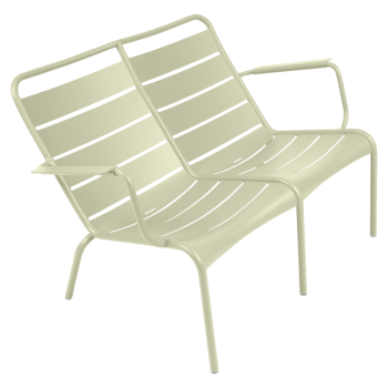 Fermob - Luxembourg Stacking Low Armchair Duo