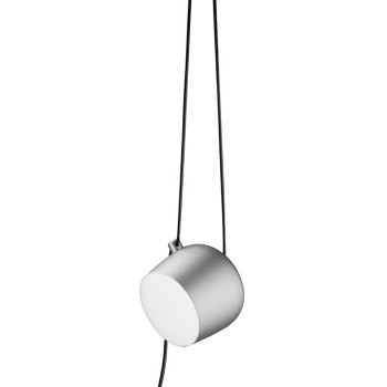 Flos - Aim hanglamp small LED Steel Silver Anodized