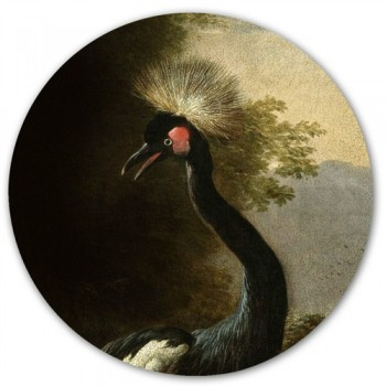 Groovy Magnets - Majestic Crane magneetsticker