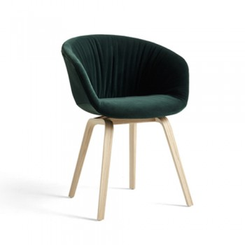 Hay - About a Chair - AAC23 Soft eetkamerstoel - Mat lacquered oak veneer