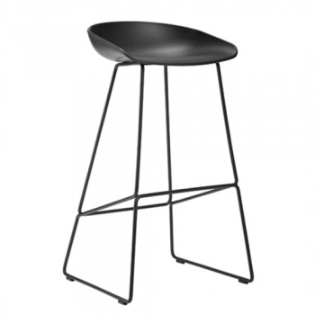 Hay - About a Stool AAS38 High Black - 85 cm