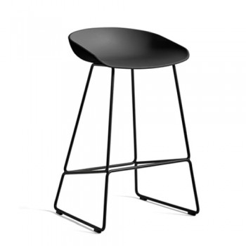 Hay - About a Stool AAS38 Low Black - 75 cm
