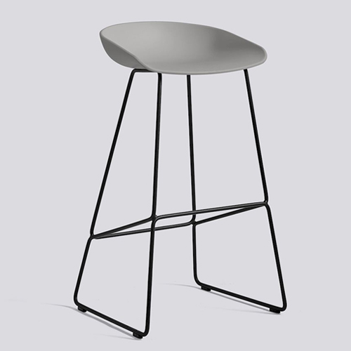 Hay About A Stool Aas38 High Black 85 Cm