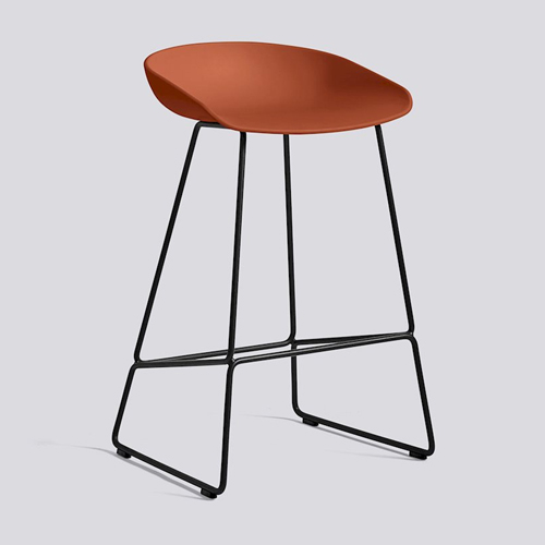 Hay About A Stool Aas38 Low Black 75 Cm