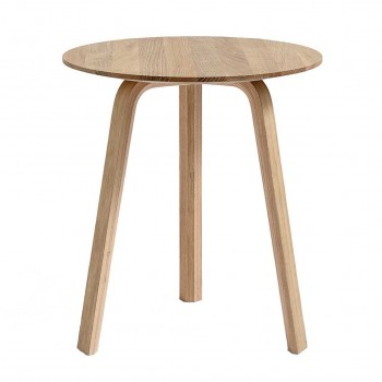 Hay - Bella Coffee Table Ø45 Matt Oak