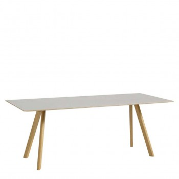 Hay - Copenhague Table CPH30 eetkamertafel - Off white/eiken