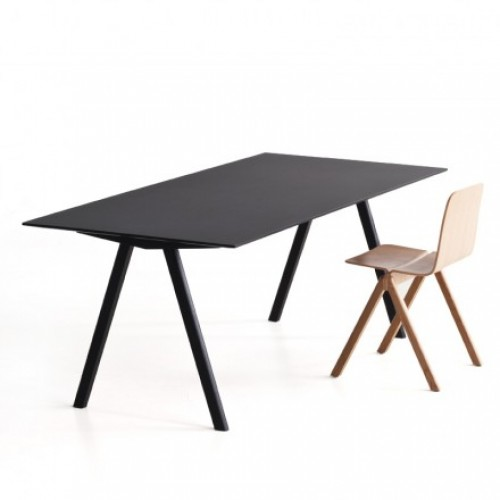 Hay - Copenhague Table CPH30 eetkamertafel - zwart/zwart