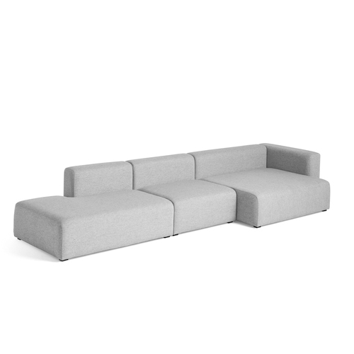 Design Bank Met Chaise Longue.Hay Mags Bank