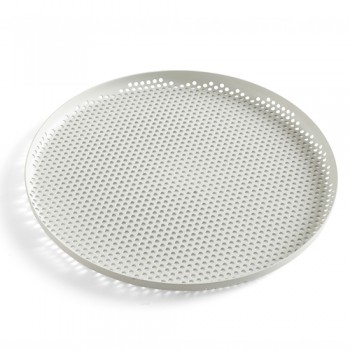Hay - Perforated Tray L Soft Grey