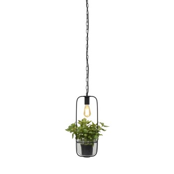 It's About RoMi - Florence plant holder/hanglamp - Zwart