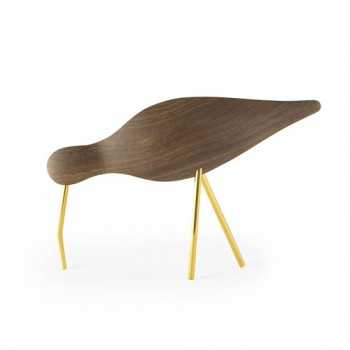 Normann Copenhagen - Shorebird - Walnut Brass legs