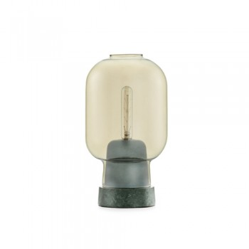 Normann Copenhagen - Amp Tafellamp Gold/Green