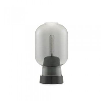 Normann Copenhagen - Amp Tafellamp smoke/black