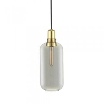 Normann Copenhagen - Amp Large Smoke/Brass