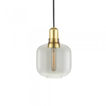 Normann Copenhagen - Amp Small Smoke/Brass