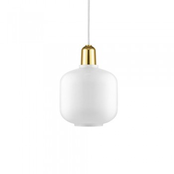 Normann Copenhagen - Amp Small White/Brass