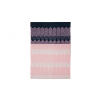 Normann Copenhagen - Ekko Throw Blanket wollen plaid/sprei