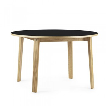 Normann Copenhagen - Slice Table Linoleum Ø120 cm