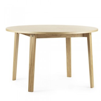 Normann Copenhagen - Slice Table vol. 2  Ø120 cm Oak
