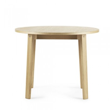 Normann Copenhagen - Slice Table vol. 2  Ø95 cm Oak