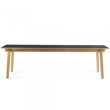 Normann Copenhagen - Slice Table Linoleum 90x250 cm