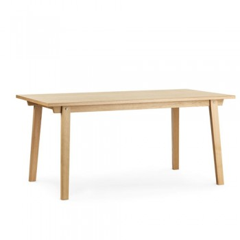 Normann Copenhagen - Slice Table vol. 2  84 x 160 cm Oak