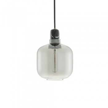 Normann Copenhagen - Amp Small Smoke/Black