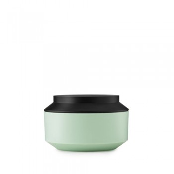 Normann Copenhagen - Geo Jar w. Lid Ø15 mint/black