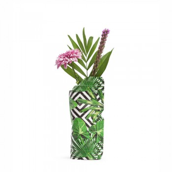 Pepe Heykoop - Paper Vase cover Geo Jungle - Small