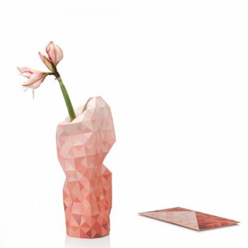 Pepe Heykoop - Paper Vase cover Red Gradient