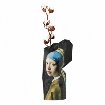 Pepe Heykoop - Paper Vase cover Girl with a Pearl Earring
