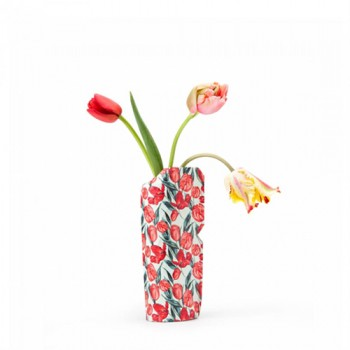 Pepe Heykoop - Paper Vase cover Tulips - Small