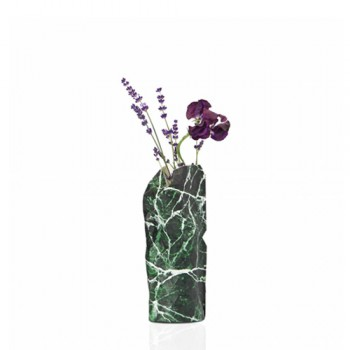 Pepe Heykoop - Paper Vase cover Marble Green - Small