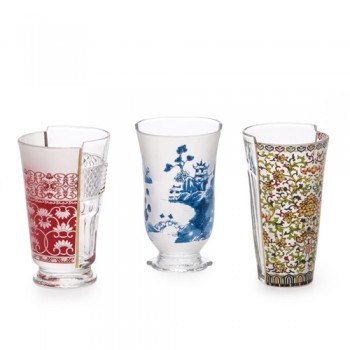 Seletti - Hybrid Cocktail Glasses Clarice - set van 3