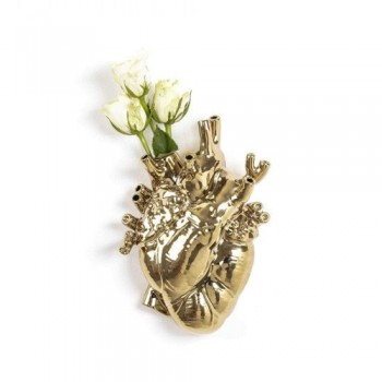 Seletti - Love in Bloom Vaas Goud