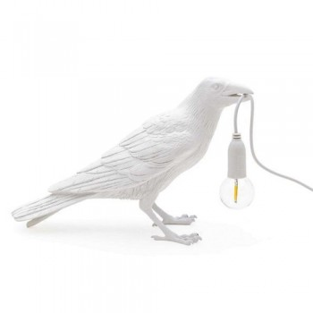 Seletti - Bird lamp Waiting wit