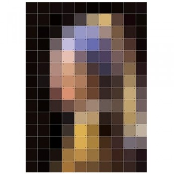 IXXI - Girl with a pearl earring Pixel